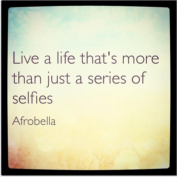 Afrobella's Wisdom - May 1st