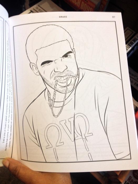 DrakeColoringBook